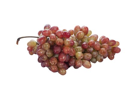 red grape isolated on white Stock Photo - 11261060