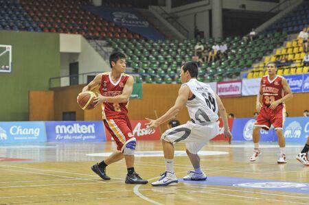 Asean Basketball League 2012 (ABL) Stock Photo - 13365218