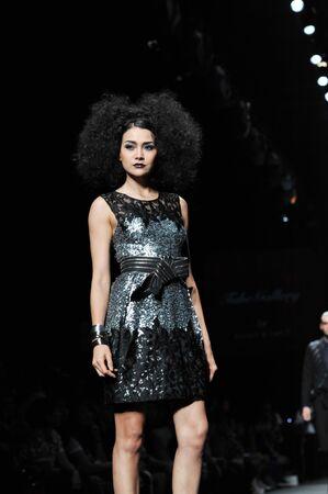 BANGKOK, THAILAND - MARCH 24 : Model walks the runway at