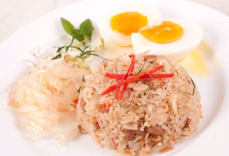 Fried rice ,Thai cuisine  photo