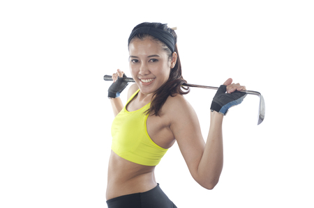 20 year old: Young beautiful woman 20 - 30 year old during fitness time and exercising
