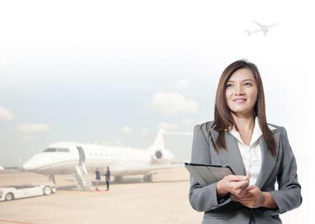 asian businesswomen  photo