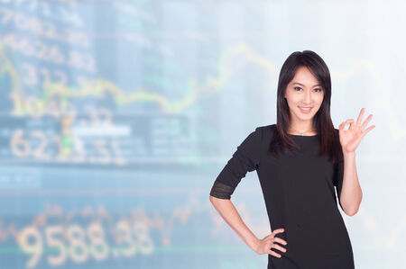 asian businesswomen 20-30 year old has of airport .Mixed Asian  Caucasian businesswoman.Positive emotion photo