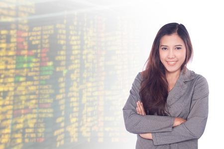 asian businesswomen 20-30 year old  .Mixed Asian  Caucasian businesswoman.Positive emotion photo