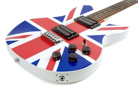 British Flag Guitar photo