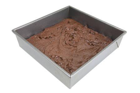 sinful: Brownies in pan