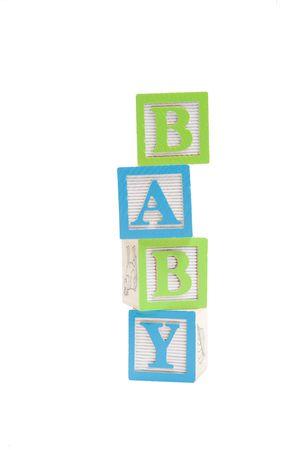 Baby written in child block