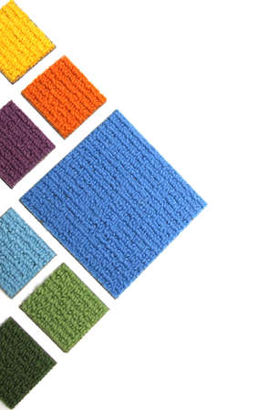 Samples of carpet Stock Photo - 8546595