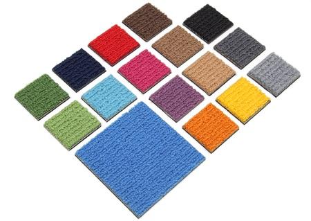 Samples of carpet photo