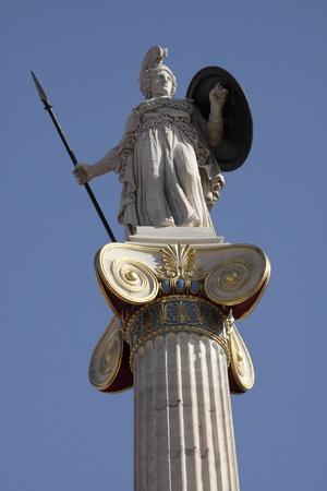 The goddess Athena photo