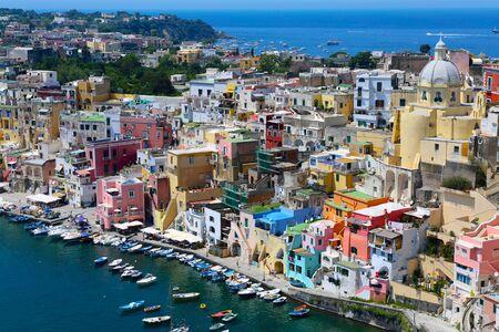 italia: procida island in italia