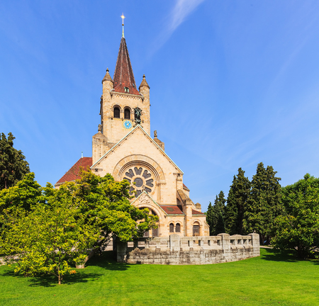 St. Paul's Church (German: Pauluskirche) in the city of Basel, Switzerland.