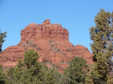sedona: bell rock in sedona arizona Stock Photo