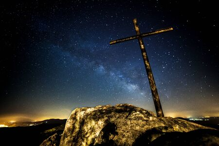 mistery: Holy Cross and the Milky Way