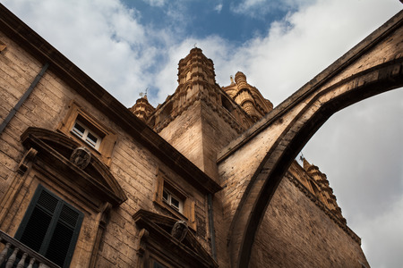 Picture taken to the Cathedral of Palermo photo