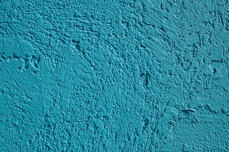 Empty blue structured concrete surface. Close-up. Background