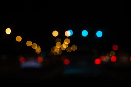 traffic lights in city