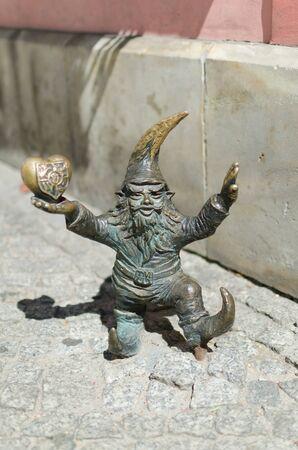 wroclaw: Gnome sculpture