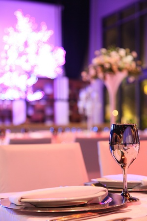 design for banquets, celebrations, birthdays, weddings, romantic evening photo