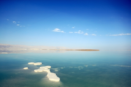 Dead Sea landscape pretty clean in the summer day Stock Photo - 12166978