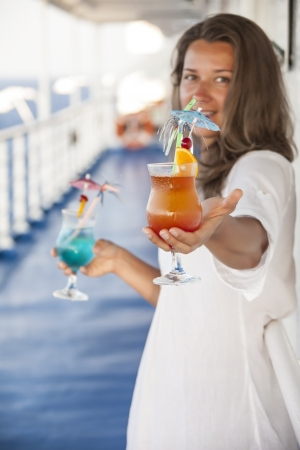 she offers a cocktail day summer