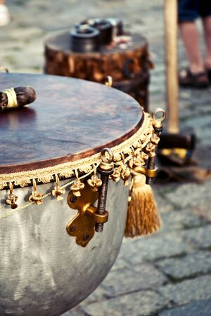 Decorative vintage drum Stock Photo - 14780880