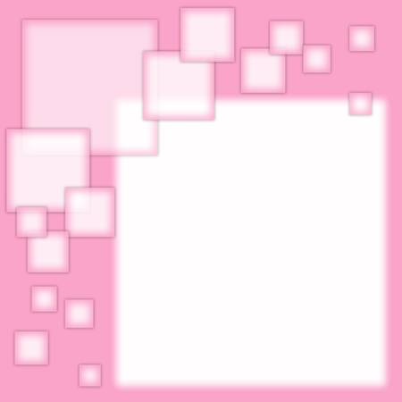 abstract form for the signature pink color Stock Photo - 17174120