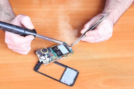 repair broken cell phones, faulty