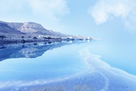 Resorts des Toten Meeres in Israel in den Sommerferien