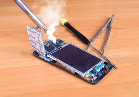 mobile phones  repair Area