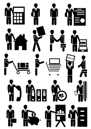 vector people group business isolated