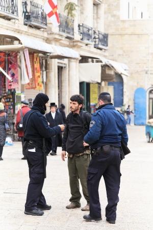 Jerusalem police, day fall protection Stock Photo - 19465150