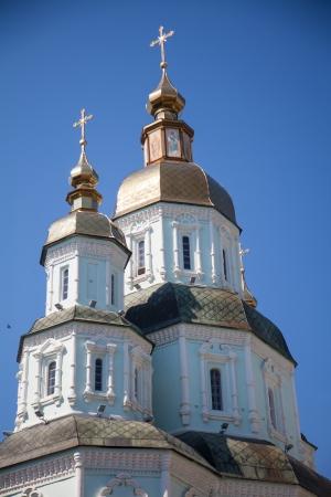 Orthodox Church in Ukraine, Kharkiv summer day photo
