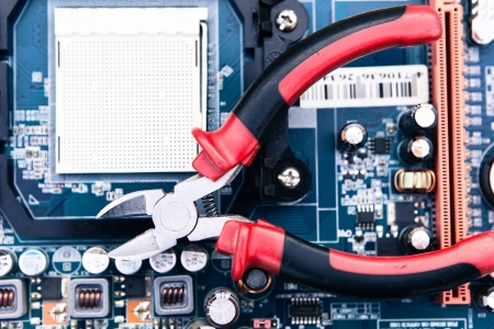 repairman: repair and maintenance of computer equipment