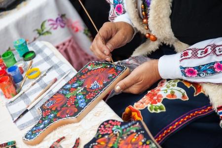 Slavic traditions Art, hand-coloring photo