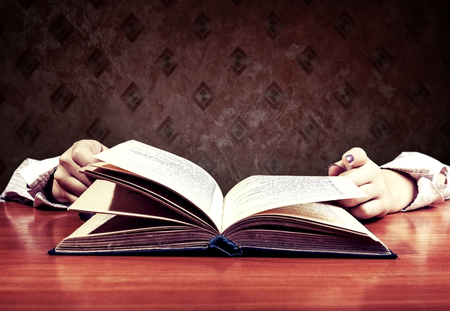 notion: abstract notion of education, lack of human reading
