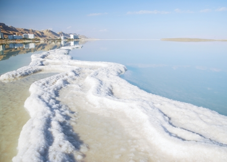 views minerals resort trail Dead Sea in Israel