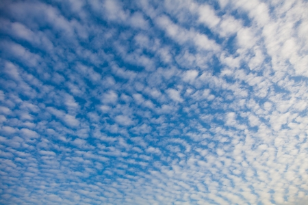 wave cloud in the sky, summer day Фото со стока