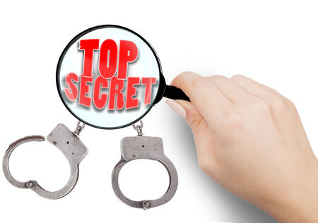 Top Secret or hidden truth  illustration illustration