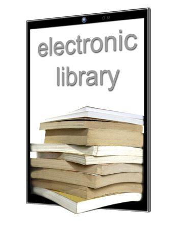 a large number of e-books in your tablet or smartphone
