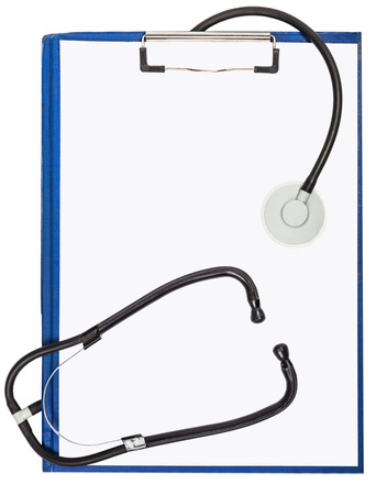 patient's history: documentation and an endoscope, a hospital therapeutic background