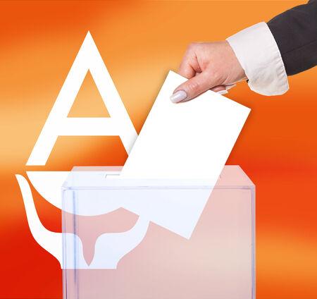 electoral: electoral vote by ballot, under the Antarctica flag