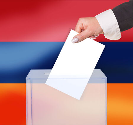 legitimate: electoral vote by ballot, under the Armenia flag