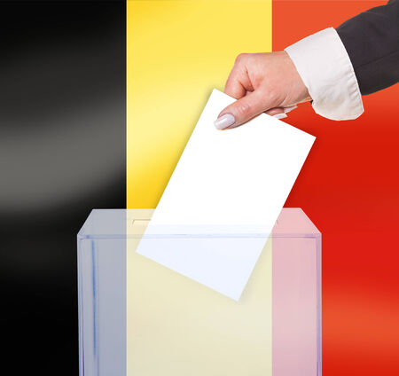 legitimate: electoral vote by ballot, under the Belgium flag