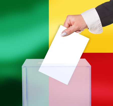 electoral: electoral vote by ballot, under the Benin flag