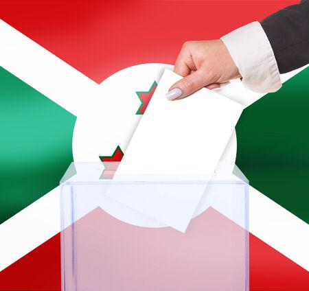 electoral: electoral vote by ballot, under the Burundi flag