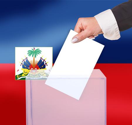 electoral: electoral vote by ballot, under the Haiti flag