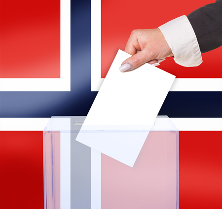 electoral: electoral vote by ballot, under the Norway flag