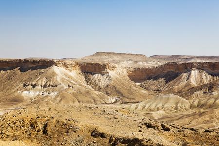 negev: Negev desert landscape sunny day