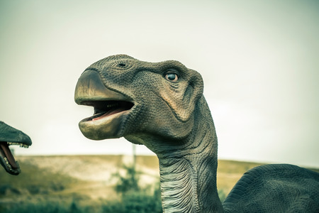 extinct: ancient extinct dinosaur